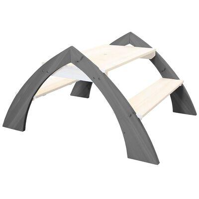 AXI Barnas Piknikbord Kylo grå og hvit A031.021.00