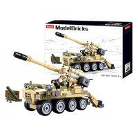 Sluban ModelBricks, Byggesett - 8x8 Selvdrevet Artilleri