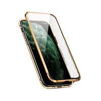 Mobiltelefon med tosidig herdet glass - iPhone XS Max - Gull