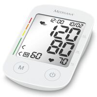Medisana Blodtrykksmåler overarm med stemmefunksjon BU 535 Voice hvit