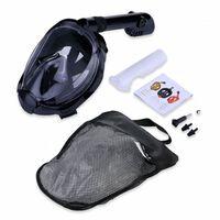 Helmaske og snorkel med GoPro-feste