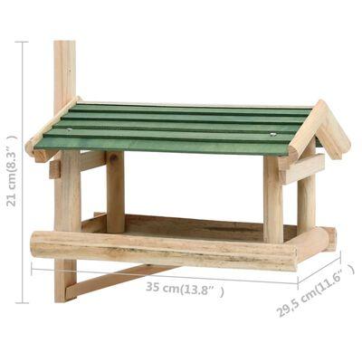 vidaXL Fuglemater heltre 35x29,5x21 cm