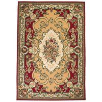 vidaXL Orientalsk teppe 80x150 cm rød/beige