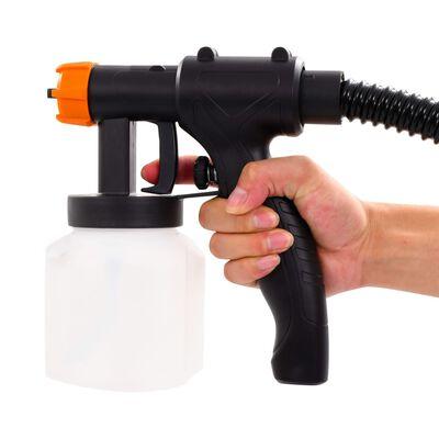 vidaXL Elektrisk sprøytepistol med luftslange 500 W 800 ml