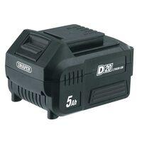 Draper Tools D20 litiumionbatteri 5Ah 20V