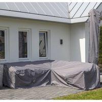 Madison Utendørs salongtrekksett 270x270x70 cm grå