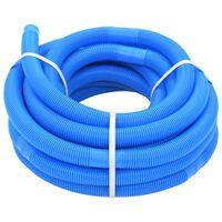 vidaXL Bassengslange blå 32 mm 15,4 m
