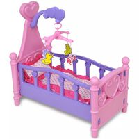 Barnas lekerom - Dukke seng Rosa + Lilla