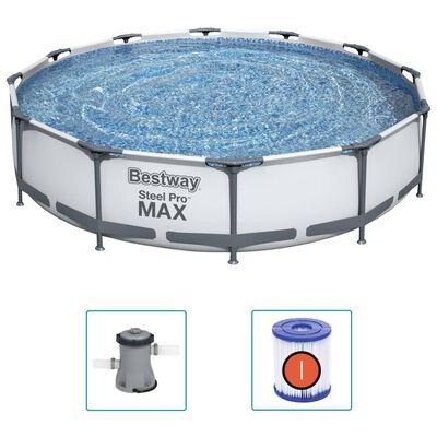 Bestway Svømmebasseng Steel Pro MAX 366x76 cm