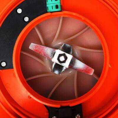 vidaXL 3-i-1 Løvblåser bensindrevet 26 cc oransje