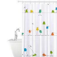 Tatkraft, Funny Frogs - Dusjforheng i Polyester
