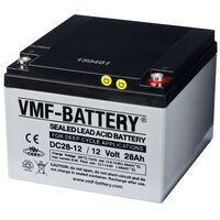 VMF AGM Dypsyklusbatteri 12 V 28 Ah DC28-12