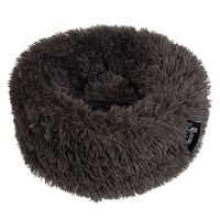 "DISTRICT70 Pet Bed ""FUZZ"" Dark Grey S"