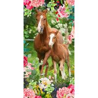 Good Morning Strandhåndkle FOAL 75x150 cm flerfarget