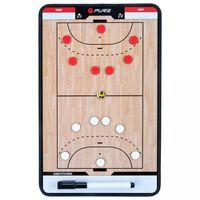 Pure2Improve Dobbeltsidig trenertavle håndball 35x22 cm P2I100630