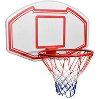 vidaXL 3 dels veggmontert basketballsett 90x60 cm