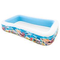 Intex Swim Center Familiebasseng 305x183x56 cm sjøliv-design