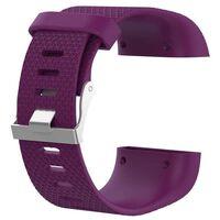 Klokkerem kompatibel med Fitbit Surge, Lilla - L
