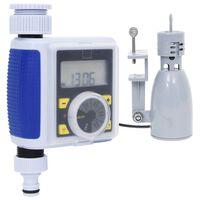 vidaXL Digital vanningstimer for hage med krankobling og fuktsensor