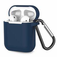Airpod silikonetui - ekstra støtsikker - mørk blå