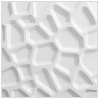 WallArt 24 stk 3D Veggpaneler GA-WA01 Gaps