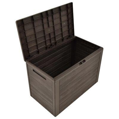 vidaXL Putekasse brun 78x44x55 cm