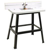 vidaXL Fresebord stål og MDF 81x61x88 cm
