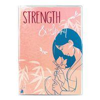 Mulan, A5 Notatbok - Strength and Spirit