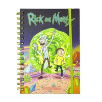 Rick and Morty, Notatblokk