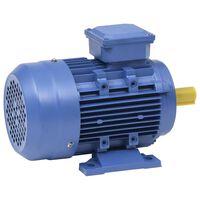 vidaXL Elektrisk motor 3 faser aluminium 4kW/5,5HP 2 poler 2840 o/min