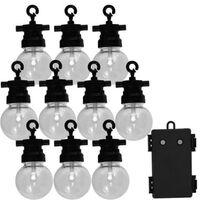 Luxform Hagelyssett med 10 LED Fiji