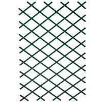 Nature Hageespalier 2 stk 100x200 cm PVC Green