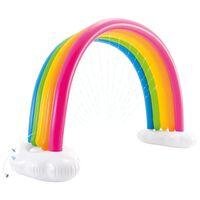 Intex Regnbuespreder flerfarget 300x109x180 cm