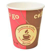 vidaXL Engangs kaffekopper 1000 stk papir 240 ml (8 oz)