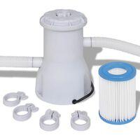 Svømmebasseng Filterpumpe 2000 L / h