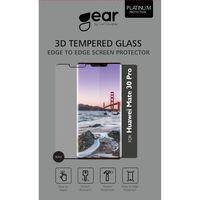 GEAR Tempered Glass 3D Full Cover Svart Huawei Mate 30 Lite