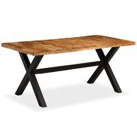vidaXL Spisebord heltre akasie og mango 180x90x76 cm