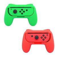 Nintendo Switch Joy-Con Controller Grip - 2-pakke - rød / grønn