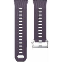 Silikonarmbånd kompatibel med Fitbit Ionic - Lilla - S