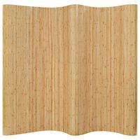 vidaXL Romdeler bambus 250x165 cm naturell
