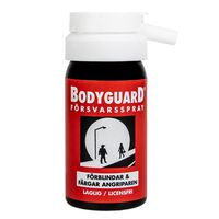 Bodyguard Forsvarsspray Original Red, blinder og farger