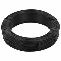vidaXL Gjerdetråd 250 m 1,4/2 mm stål antrasitt