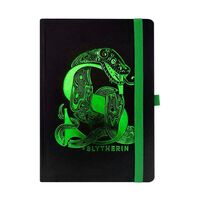 Premium A5 Notatbok - Harry Potter, Slytherin