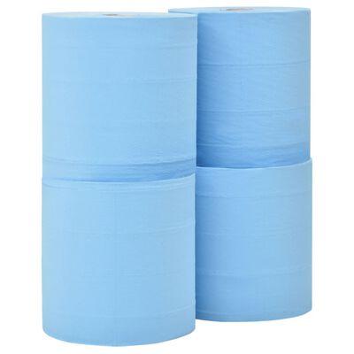 vidaXL Industrielle papirruller 3 lag 4 ruller 26 cm