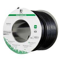 DELTACO F / UTP Cat6 installasjonskabel, for utendørs bruk, 100m, svar