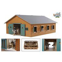 Kids Globe Stall med 7 bokser 1:24 610595