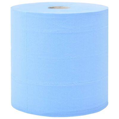 vidaXL Industrielle papirruller 3 lag 2 ruller 38 cm