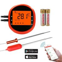 Smart trådløst steketermometer med 2 sensorer