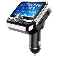Bluetooth FM-sender og billader med dobbel USB 2.4V