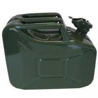 ProPlus Jerrykanne 10L metall grønn
